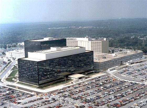 Sídlo NSA ve Fort Meade v Marylandu
