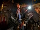 Těžkooděnci zasahují proti protestům v Brazílii (20.6. 2013)