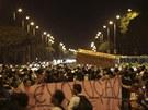 Nepokoje v Brazílii (20.6. 2013)