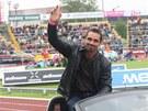 Na mítinku Zlatá tretra se s kariérou rozloučil desetibojař Roman Šebrle.