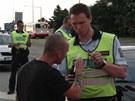 Policejní akce v červnu zaměřená na řidiče (22. června 2013).
