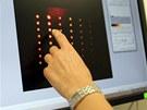 Postup při testování virů chřipky pomocí kvantových teček. Vědci používají...