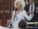 Americká senátorka Wendy Davisová bez přestávky mluvila jedenáct hodin....