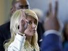 Pades�tilet� sen�torka Wendy Davisov� se postavila za pr�vo �en na potrat....