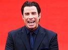 Herec John Travolta na zahájení 48. ročníku mezinárodního filmového festivalu v