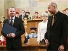 Martin C. Putna dostal profesorsk� dekret z rukou ministra �kolstv� Petra