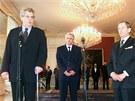 Prezident V�clav Havel jmenoval ministrem financ� Zemanovy vl�dy Ji��ho