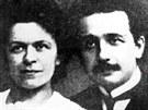 Mileva Einsteinová a Albert Einstein