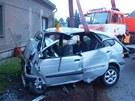 Osmatřicetiletý řidič projel ve Frýdku-Místku rovně křižovatku ve tvaru písmene