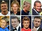 Pro své různé účesy je známý taky fotbalista David Beckham, který se v anketě...