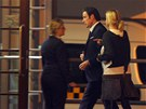 John Travolta p�ilet�l v p�tek brzy r�no do Karlov�ch Var�.
