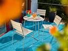 I na terase lze připravit příjemnou párty.