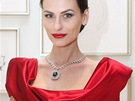 V Praze se nedávno objevil unikátní diamantový náhrdelník s masivním modrým...