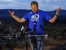 Nick Wallenda připustil, že za nebezpečný přechod kaňonu dostane od sponzorů