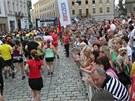 Olomoucký půlmaraton letos běželo na tři a půl tisíce lidí, další tisíce