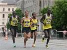 Olomouckému půlmaratonu i letos dominovali běžci z Afriky. Vítězem se stal