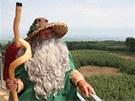 Na Velk�m Kos��i u� je otev�ena nov� d�ev�n� rozhledna s vyhl�dkou ve v�ce 25