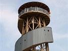 Na Velkém Kosíři už je otevřena nová dřevěná rozhledna s vyhlídkou ve výšce 25