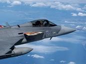 Gripen 211. taktické letky z Čáslavi v nových barvách pro elitní cvičení Tiget