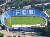 Stadion Bazaly v Ostrav�