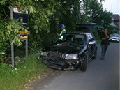 �of�r �kody Octavie narazil ve V�tkov� na Opavsku do plynov� p��pojky. (23.