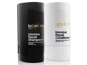 label.m: Šampón Intensive Repair (300 ml), 473 korun; kondicionér Intensive...
