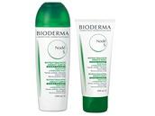 Bioderma: Šampón Nodé S (200 ml), 309 korun; maska Nodé S (200 ml), 399 korun