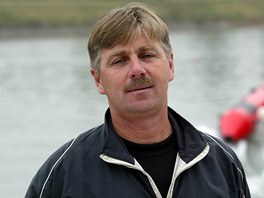 Sergej Kruťjakov, ruský kouč veslařů žijící v Praze.