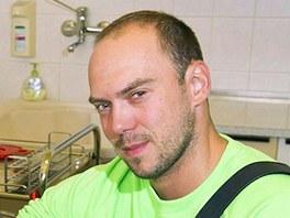 Reportér televize Nova Ladislav Hruška