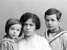 Mileva Einsteinová se syny