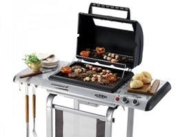 Plynový gril lze díky možnosti regulace využít v letní kuchyni velmi snadno.