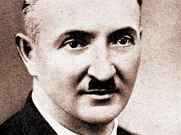 Vsetínský vynálezce Josef Sousedík.