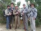 Bitvu u Gettysburgu si připomínají i nadšenci z Evropy. Na archivním snímku...