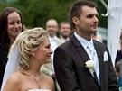 Svatba, kterou novomanželé odložili kvůli povodním, proběhla na státním zámku