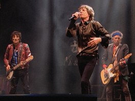 Rolling Stones na festivalu Glastonbury v Británii