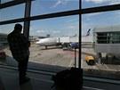 Moskevské letiště Šeremetěvo, dočasné útočiště Edwarda Snowdena (2. července