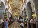 Slavnostní mše a oslavy 1150 let od příchodu Cyrila a Metoděje na Velehradě.