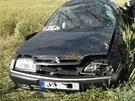 Nehoda osobního auta u Archlebova si vyžádala pět zraněných