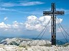 Vrcholový kříž na Hochschwabu