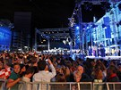 Slavnostní večer v Záhřebu k přijetí Chorvatska do Evropské unie (30. června