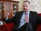 Ministr �kolstv� v demisi Petr Fiala (3. �ervence 2013)
