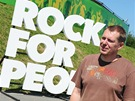 Rock for People - šéf pořadatelů Michal Thomes (2. července 2013)