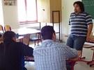 Jedním z přednášejících byl také Marian Gábor, který je asistentem pedagoga na