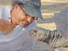 Režisér filmu Steve Lichtag se při natáčení setkal s mnoha ohroženými druhy...