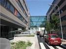Definitivn� podoba nov� kancel��sk� budovy Namiro v Olomouci v Hynaisov� ulici.