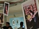 Z výstavy Amy Winehouse: Rodinný portrét (Židovské muzeum v Londýně)