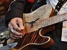 ZZ Top, Pardubice, ČEZ Aréna, 8. července 2013 - kytara Billyho Gibbonse