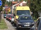Řidiči kvůli opravám na jednom z tahů z Uherského Hradiště na Zlín nabírají...