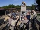 V aklimatizační stanici v Dolním Dobřejově na Benešovsku připravují pracovníci