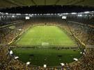 Stadion Maracaná v Riu při finále Poháru FIFA mezi domácí Brazílií a Španělskem.